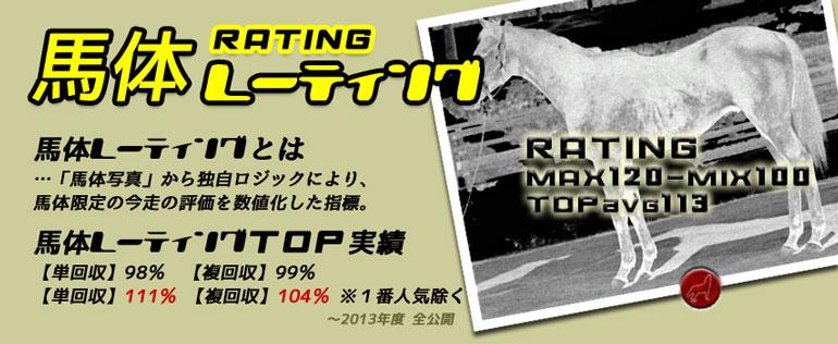 馬体レーティング競馬指標